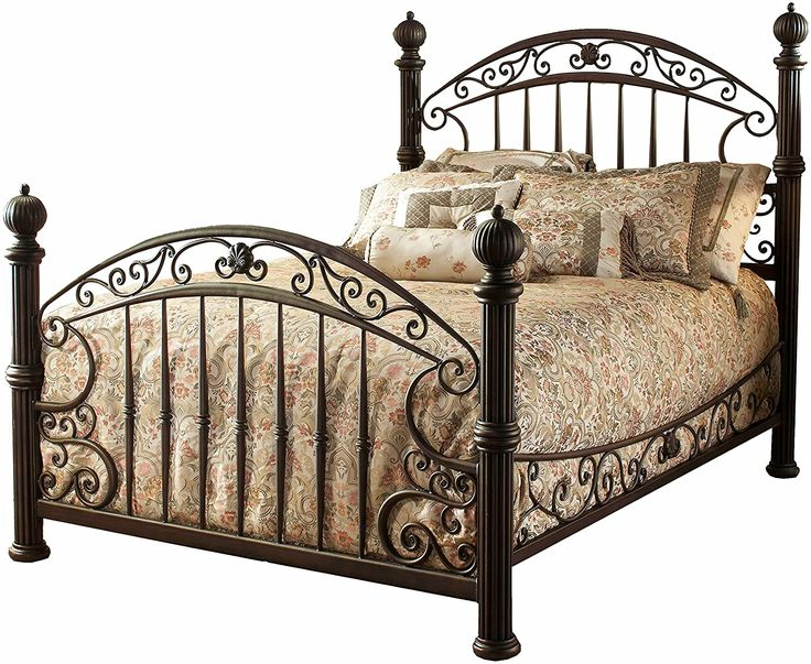Hillsdale Furniture Chesapeake Bed Set with with Rails