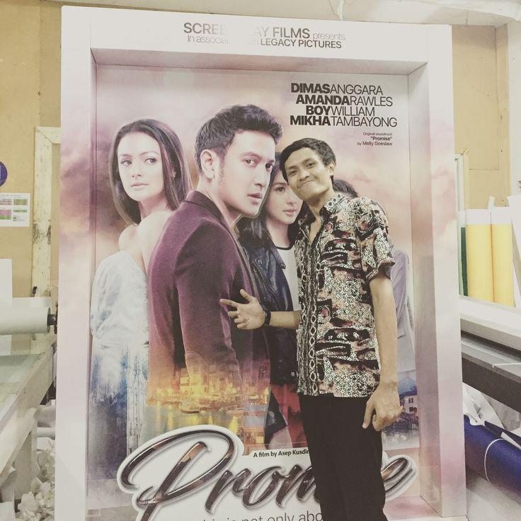 """standee movie cinema """"promise"""""""
