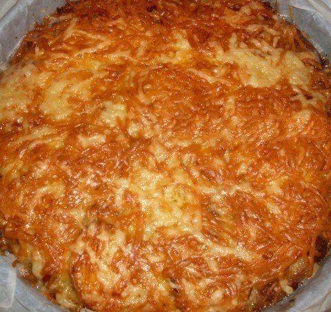 Кабачковый пирог - запеканка. Ингредиенты и приготовление: Два маленьких кабачка (можно взять один ...
