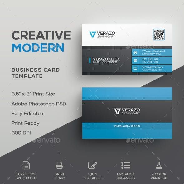 3 5 X 2 Business Card Template 07 Creative Corporate Business Card 4 Col Business Card Template Word Business Card Template Design Free Business Card Templates