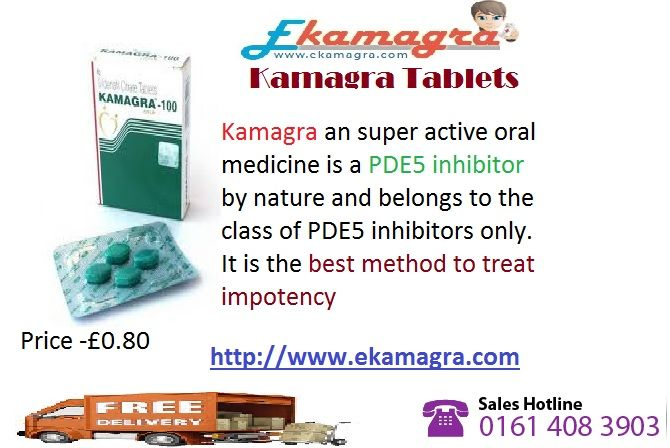 Sexual problems among the males have been a big trouble ever in their life that does not allow them to have happier married life. Cheap Kamagra 100mg have solved this lethal trouble very cautiously to help the couples in living a normal and happier sexual life. Being a version form of cheap generic Viagra, this medication comprises all the vital things that work very uniquely for removing the effects of the male impotence (erectile dysfunction).