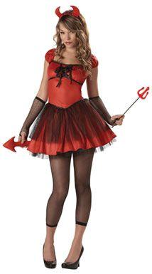 #sexy #devil #costumeTeen Devil Costume - Devil Doll