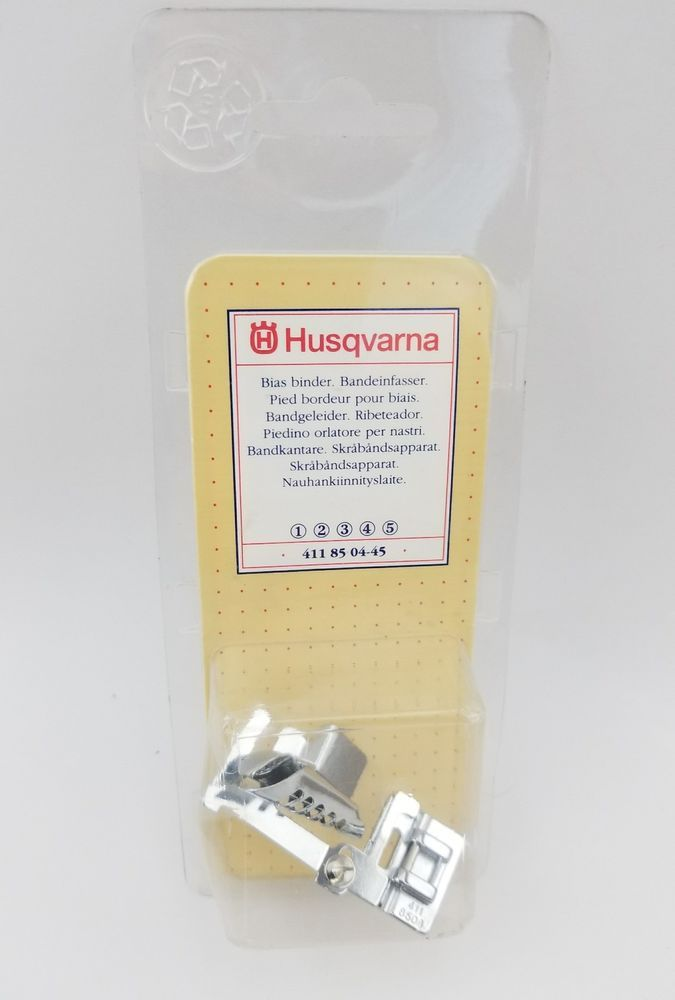 Husqvarna Viking Bias Binder Foot 4118504-45 Fits 1 2 3 4 5 Stock# D5 | Crafts, Sewing, Sewing Machine Accessories | eBay!