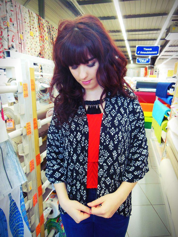 Lola Couture : En kimono chez Toto