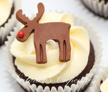 Christmas Cupcakes part 4