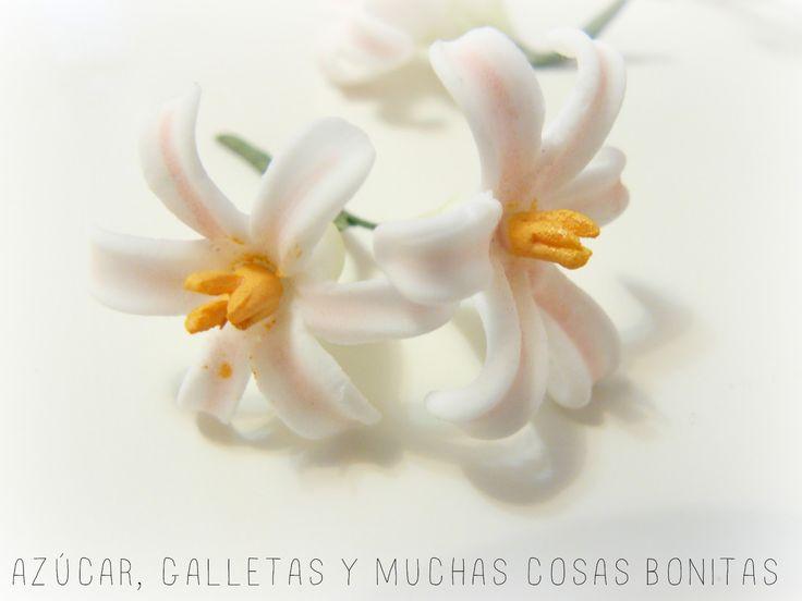 Azúcar galletas y muchas cosas bonitas: Tutorial de flores de pasta de goma sin cortador