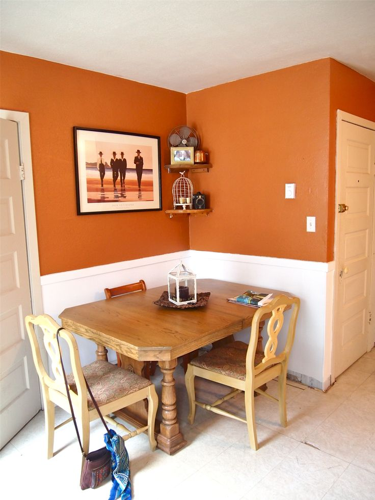 Orange Painted Kitchens 22 best orange rooms images on pinterest | orange rooms, interior