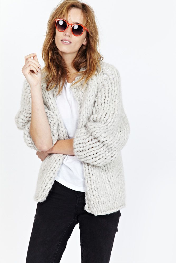 THE PERFECT BOMBER CARDIGAN / juneclothes