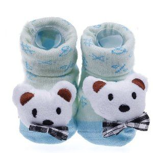 Pusat Sepatu Sandal Bayi - Eozy Lucu White Bear Newborn Baby Unisex Indoor Anti-slip Hangat Socks Knitting Hewan Kartun Crib Sepatu Boots Booties   Pusat Sepatu Bayi Terbesar dan Terlengkap Se indonesia