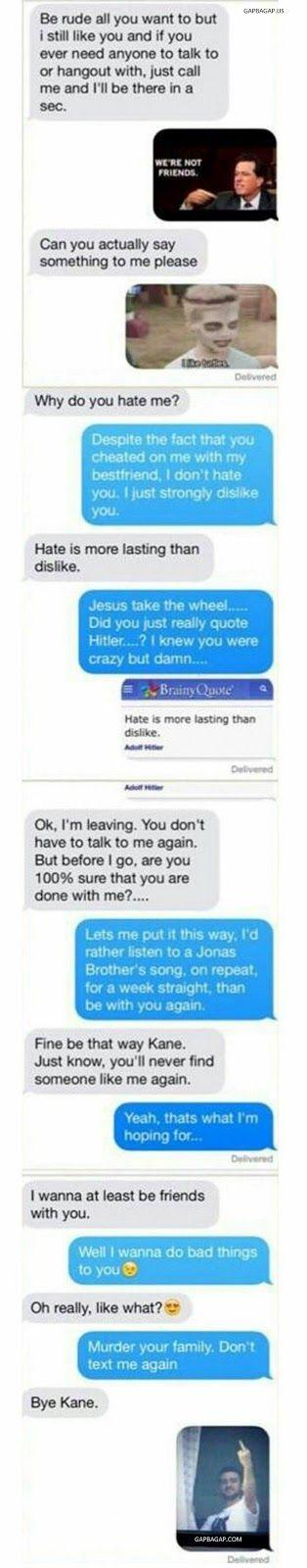 5+ Hilarious Text Message About Ex