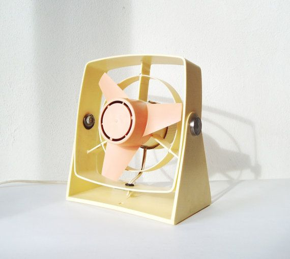 Vintage Fan Working 8 inches Electric Cooling Fan by MerilinsRetro, $27.00
