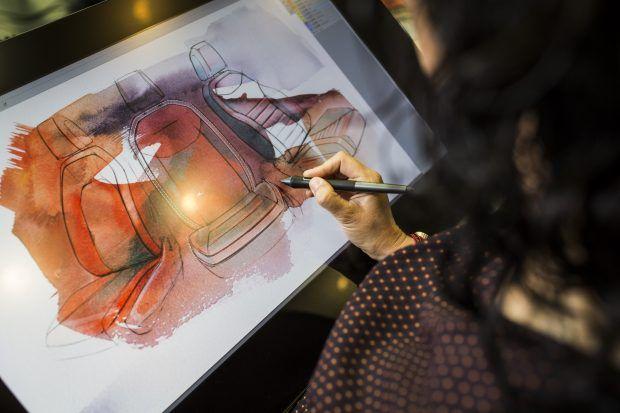 Otomobil Tasarımında Kalem, Kağıt, Kil ve 3 Boyutlu Gözlük. Seat'ın Martorell'deki Üretim Merkezindeki Tasarım Süreci ...