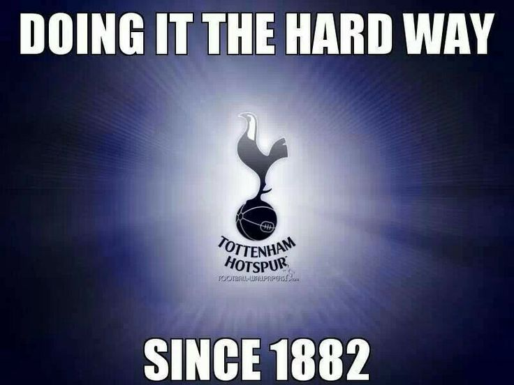 Doing it the hard way since 1882 #COYS