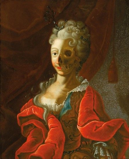 Vanitas  German Master, 18th century