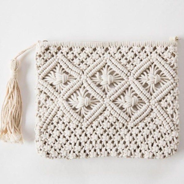Macrame Bag Tutorial For Beginners is perfect macrame projects other than wall h…
