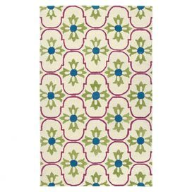 Add a pop of pattern to your master suite or den decor with this hand-tufted New Zealand wool rug, showcasing a quatrefoil-inspired trellis motif for a touch of cosmopolitan style. Made in India.   Product: RugConstruction Material: New Zealand woolColor: Brown and tanFeatures:  Hand-tufted Quatrefoil-inspired trellis motifMade in India  Note: Please be aware that actual colors may vary from those shown on your screen. Accent rugs may also not show the entire pattern that the corresponding…
