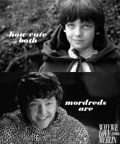 I love them both but I think my favorite is Mordred when he was young. He is so cute
