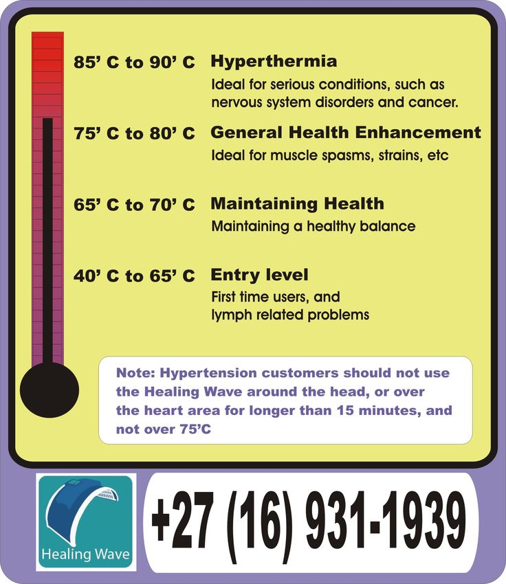 Hyperthermia is ideal for cancer and nervous system disorders, such as fibromyalgia