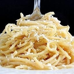 Copycat recipe of Old Spaghetti Factory's Mizithra Pasta (brown buttered pasta with mizithra cheese) - YUM!