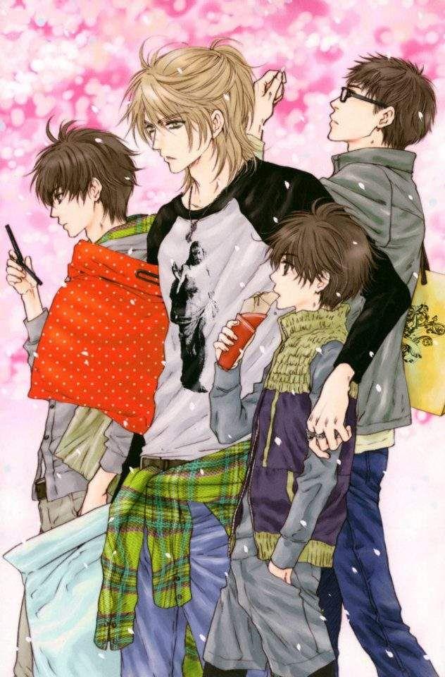 Aki, Shima, Haru, Ren... Superlovers