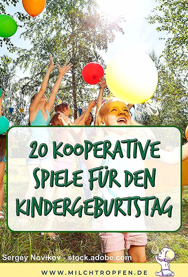 20 Kooperative Spiele Zum Kindergeburtstag Kinderspiele