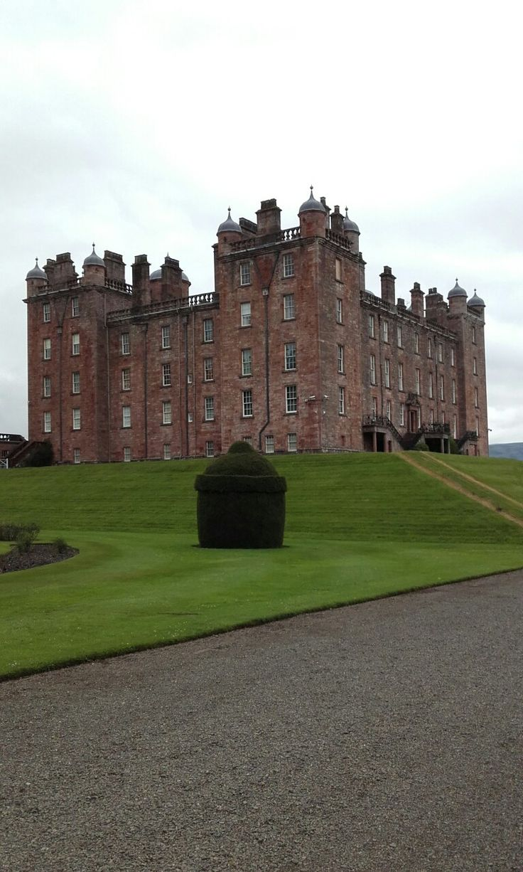 Adam architecture groundbreaking country house in hampshire - Drumlanrig Castle British Countrycountry Houses