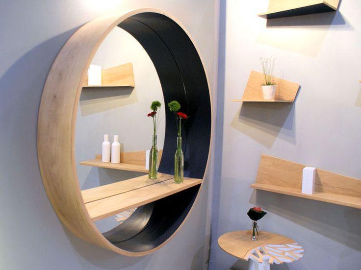 Miroir étagère de Drugeot Labo : Maison&Objet : la déco à ne pas rater en 2014 - Journal des Femmes Décoration