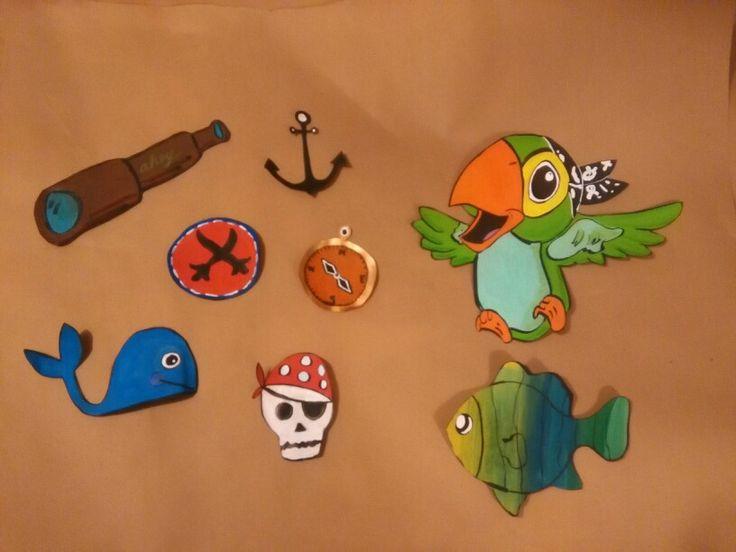 Decoraciones de para tema de piratas
