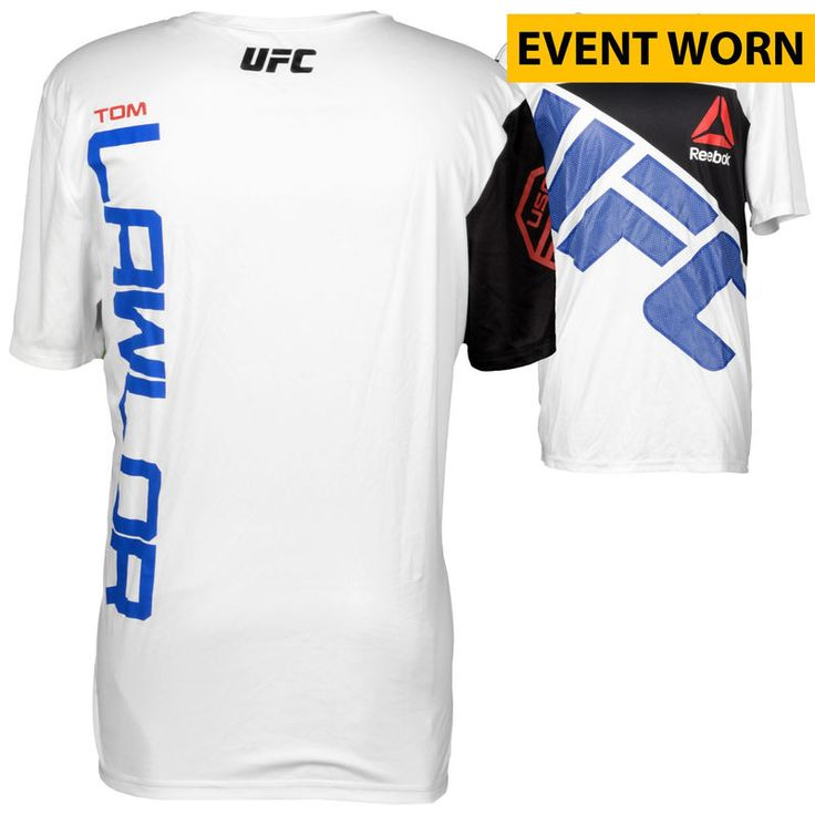 Tom Lawlor Ultimate Fighting Championship UFC on FOX Dillashaw vs. Barao 2 Event-Worn Walkout Jersey - Defeated Gian Villante via Second Round Knockout