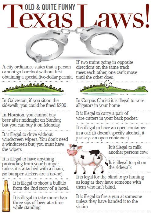 Texas Laws  | http://theboomtx.com/