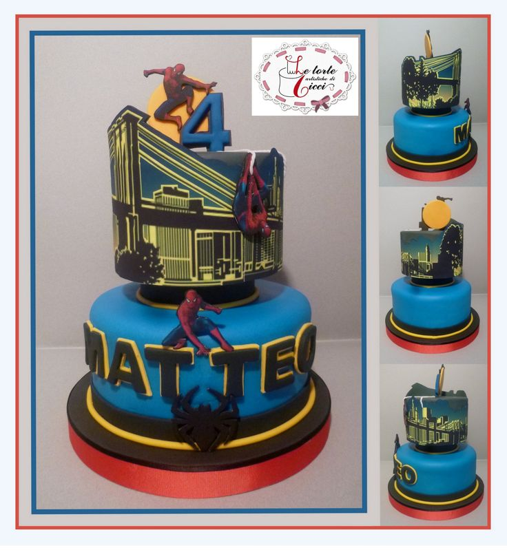 Spiderman's cake