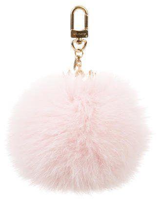 Louis Vuitton 2017 Fur Bubble Bag Charm