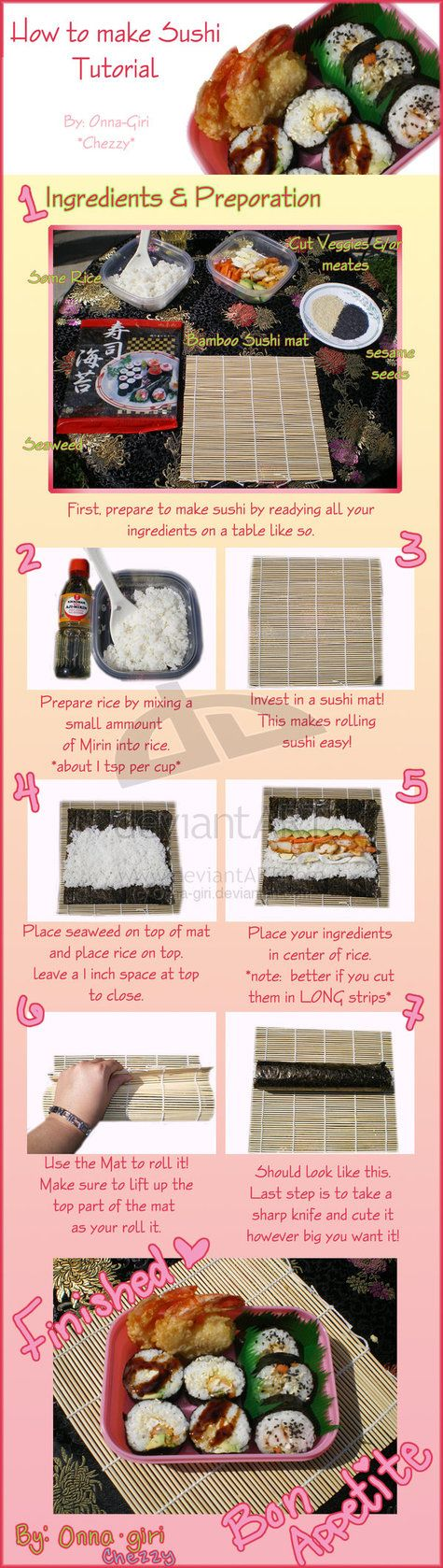 How to: sushi tutorial