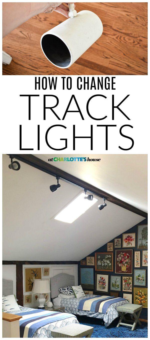 How To Change Track Lighting Bedroom