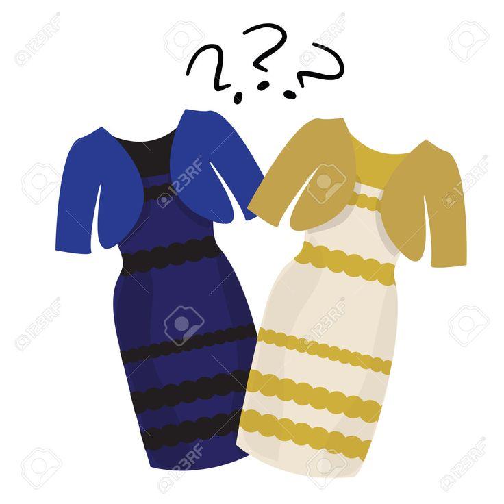 Robe blanche et dore ou noir