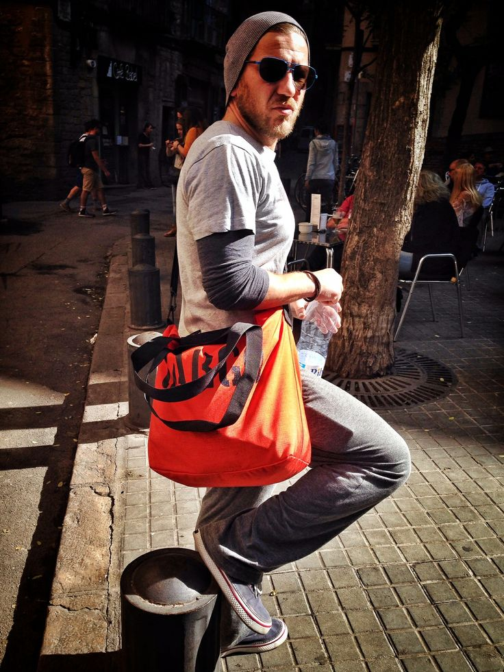 Orange CARGO by OWEE also perfect for men!