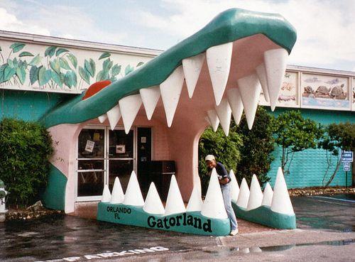 GatorLand in Orlando, FL  2011