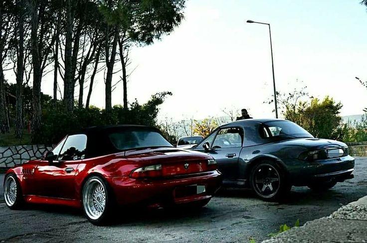 BMW Z3 duo red grey