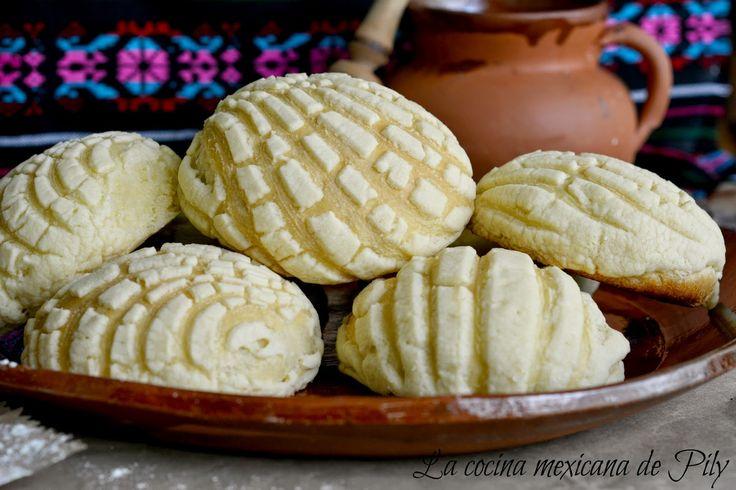 Conchas Caseras Tradicional Pan Mexicano | La Cocina Mexicana de Pily