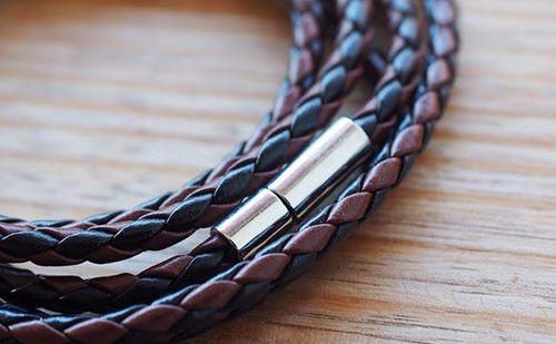 The Adderley Brown & Black Men's Leather Bracelet #leather #bracelet #accessories #menswear  Check out this: http://dappervigilante.com/