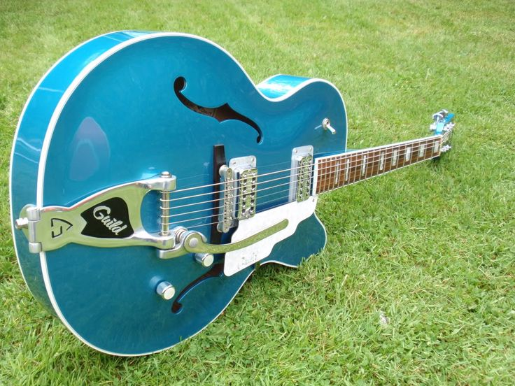 Guild X 160 Rockabilly In Catalina Blue