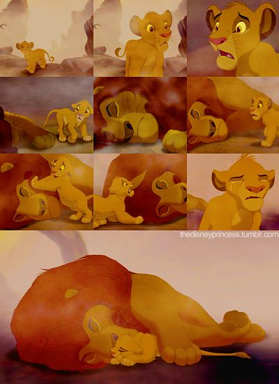 Day 8 Saddest Moment: Mufasa's Death  Just looking at the picture makes me cry