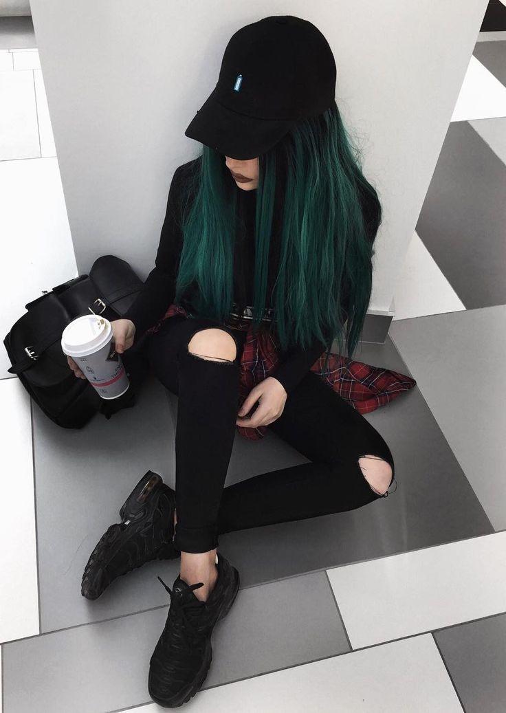 36 Ideen für schwarze Outfits