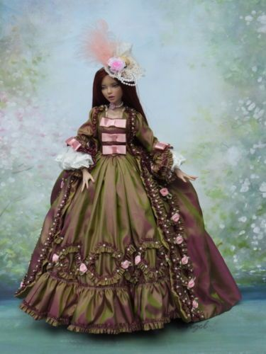 Rococo-Vestido-Para-Deja-Vu-de-16-Tonner-Doll-dj-25