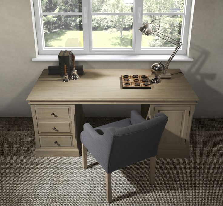 Desk and chair - bureau en stoel - Landscape collectie - Charrell Home Interiors