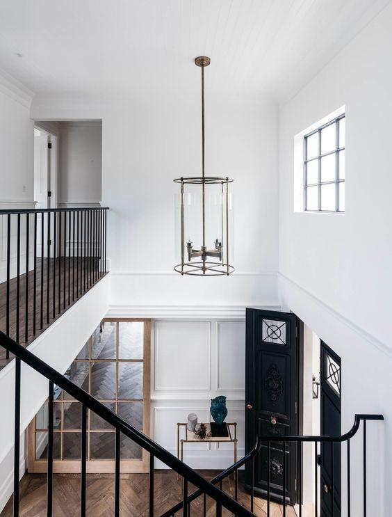 double height foyer