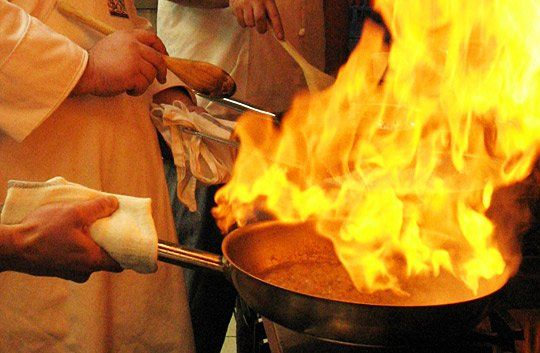 Kitchen Safety: How to Put Out a Grease Fire