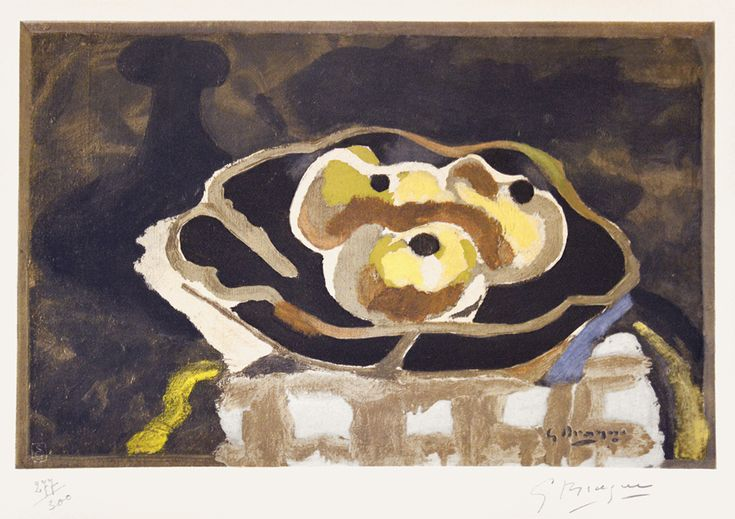 Georges Braque, Still Life with Apples, 1956