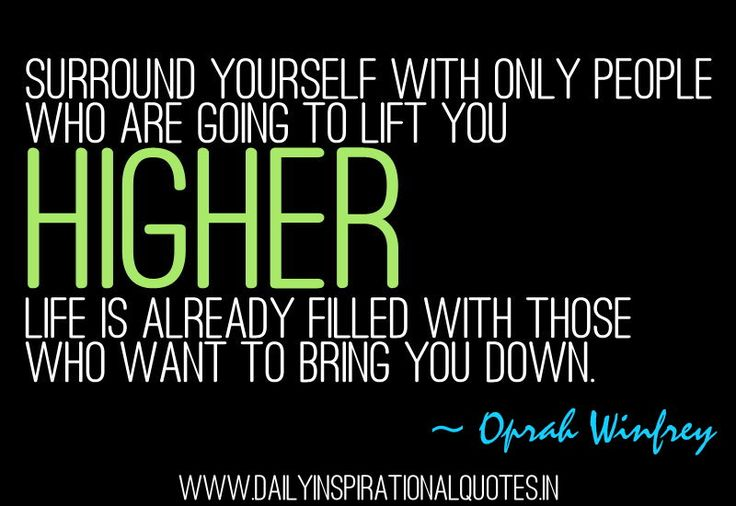 Surround Yourself With Great People.