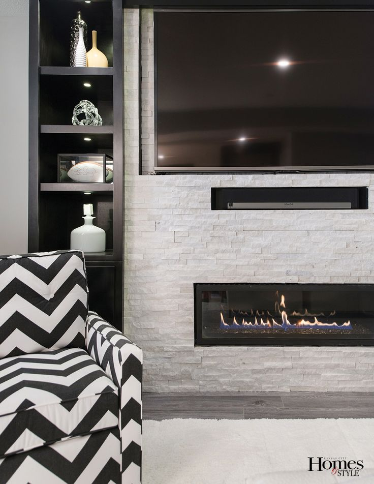 17 best ideas about modern stone fireplace on pinterest for Ramsey fireplace